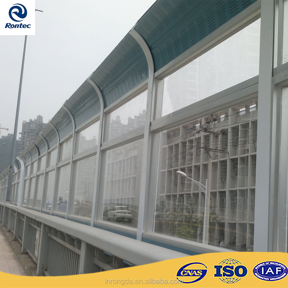 Noise barrier/sound absorbing panels for highway, residential