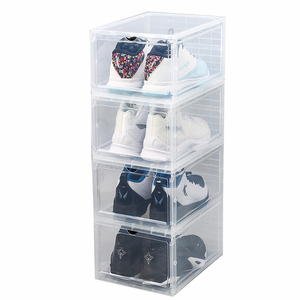 Modern Style Cheap Price High Quality Custom Transparent Shoe Storage Box