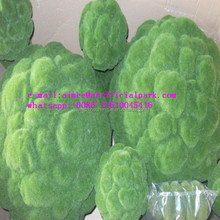 Q0908005 garden decoration topiary China wholesale green artificial moss balls
