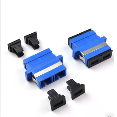 Duplex Fiber Optic SC Coupler