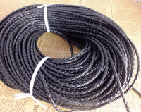 Z-2807 50M Braiding Leatheroid Jewelry Cord 3mm thick