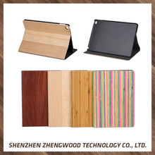 Factory Direct Wholesale Customized natural wood case wooden laser cut real bamboo phone case For iPad