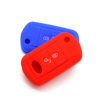 Car remote key blank case silicone key shell silicone remote car key cover for land rover