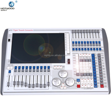 Manual type and 110 v voltage conTiger Touch Lighting Console 8 Outputs DMX 4096 Channels Programmable time led light controller