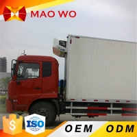 China hot sale refrigerator freezer truck refrigerated van and truck in Dubai