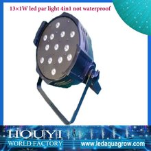 usa ebay hot sale shenzhen factory 13*1w 4 in 1 led par light with tri-color wireless battery stage light led par 64