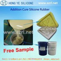 Addition cure injection molding silicone RTV-2 silicone material
