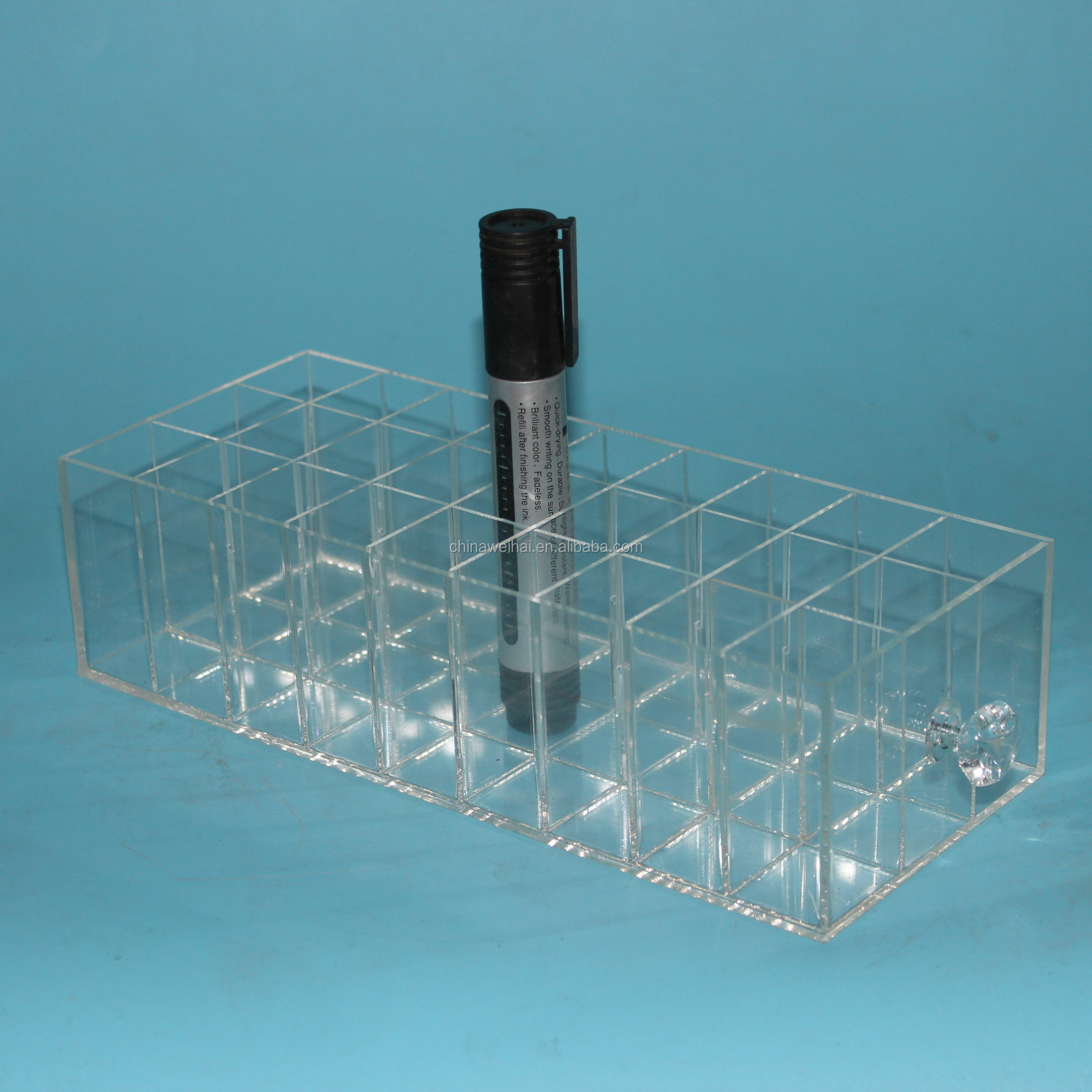 Clear Acrylic Cosmetic Pigment Organizer Drawer