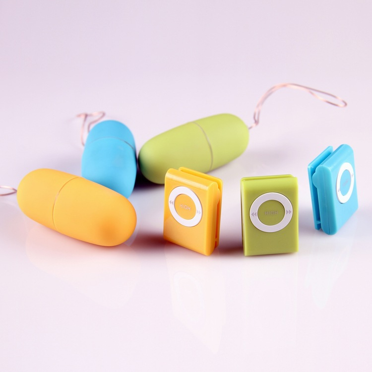 Wireless Remote Control MP3 Vibrating Eggs Sex Toys For Woman