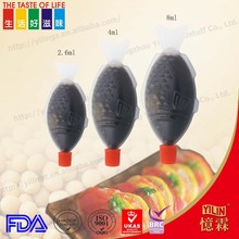8ml fish shape bottle packing ponzu sauce with OEM service