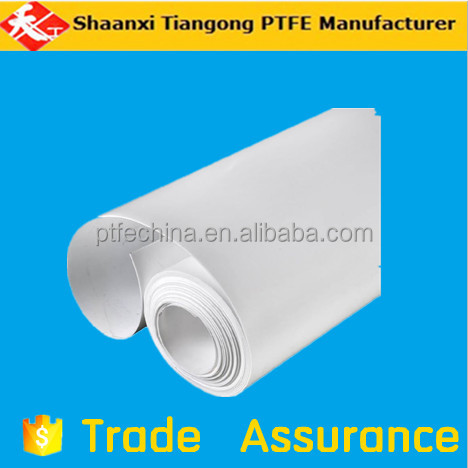Smooth Low friction PTFE skived soft sheet / F4 ptfe plate