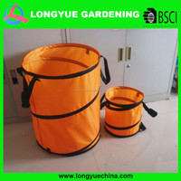 polyester pop up garden leaf bag