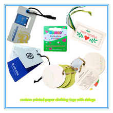 garment accessories clothing paper hang label