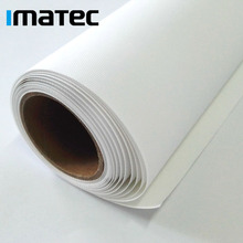 Waterproof Matte Solvent 100 % Polyester Digital Printing Inkjet Canvas Roll