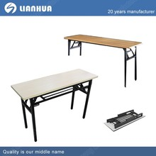 wholesale promotion folding desk with wheels cheap folding desk with wheels