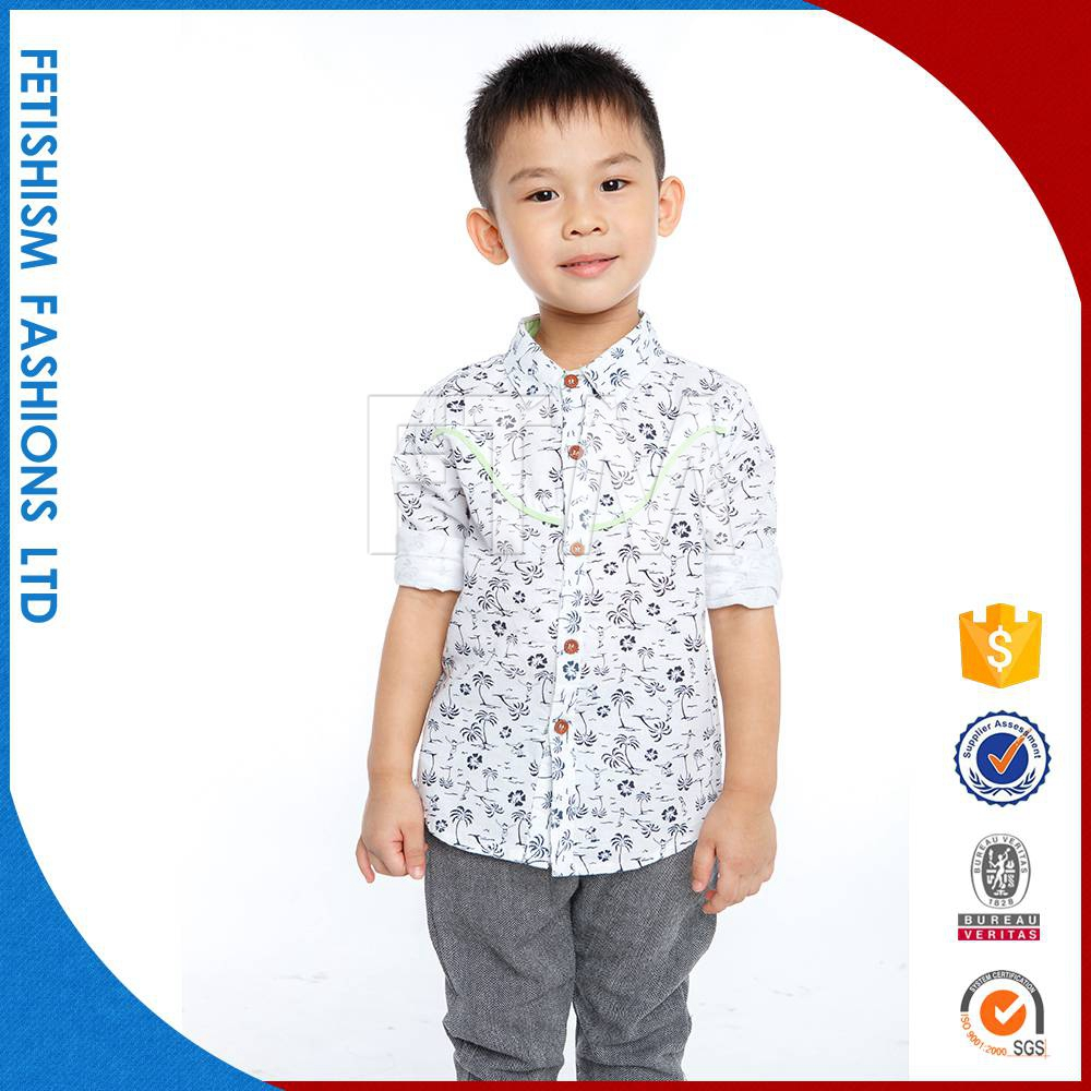 Hot Sale woven cotton boys without clothes