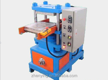 Small production silicone wristband forming machine