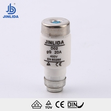 RL8 D02 cylindrical porcelain Dizd screw type fuse