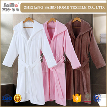Hot sale New arrival plush custom made bathrobes