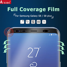 New hot bending 3D axidi tpu screen guard not tempered glass for samsung galaxy s8 screen protector