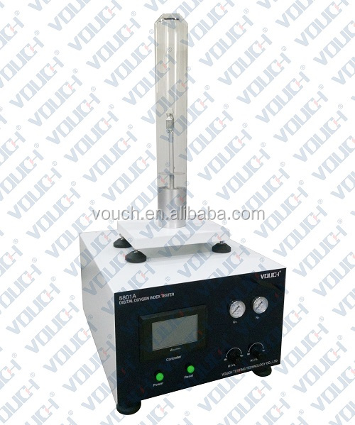 oxygen index tester with standard ISO 4598-2