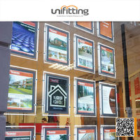 OEM LED Retailing window advertising displays