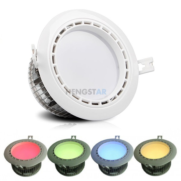 cob led downlight casing
