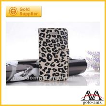 leopard pattern leather case for Iphone5