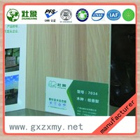 1220X2440mm Different Colors Furniture Grade Cedar Wood Core Melamine Laminated Board
