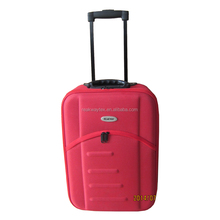 China Luggage Factory Supply Luggage Sets 3 Piece Trolley With EVA Mould Front And Zipper Pocket