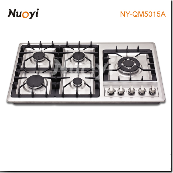 2014 fashion buil-in stainless steel parts gas burners for bbq /gas cooker burner/wood stove prices