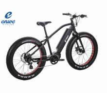 2017 Wholesale E Bicycle 1000W Mid Drive Fat Bike Bafang Motor Electric Mountain Fatbike with Good Price