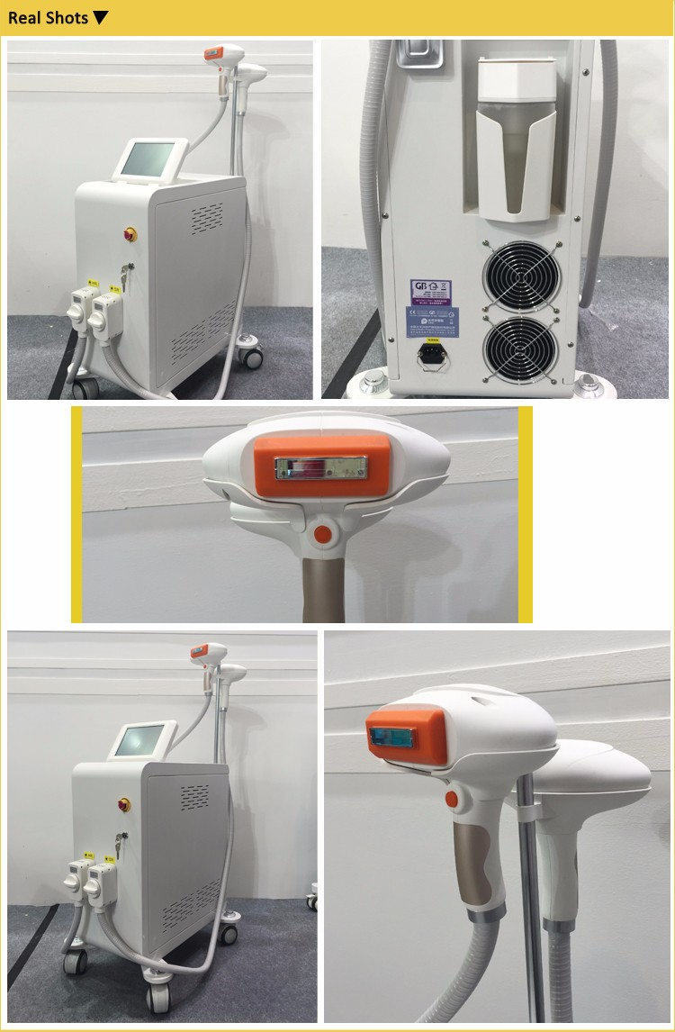 New arrival Multi-functional OPT shr beauty equipment professional ipl machine speed best permanent virgin hair removal