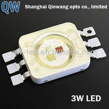 6 pins 1w high power rgb smd led diodes