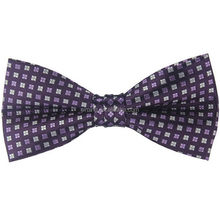 High quality most popular girls silk fabric bow tie