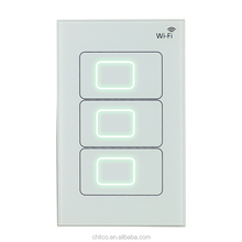 CHITCO US touch standard Remote Control Wireless Switch for smart automation