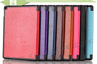 China supplier 2015 new smart cover leather folio case for iPad 4 case and cover
