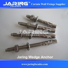 Stainless Steel AISI304/A2 316/A4 Wedge Anchor,Through Bolts for Wall Mounting M6 M8 M10