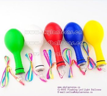 New Flashing balloons
