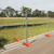 2400*2100mm Hot-dipped Galvanized Temporary Fence