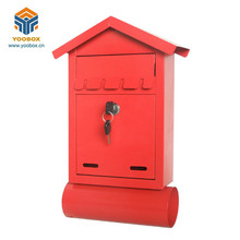 YooBox combination lock mailbox and all color combination lock mailbox with good Newspapers little Box