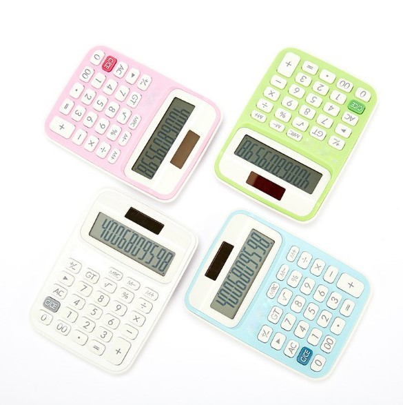 High quality mini solar power pocket calculator with wholesale price