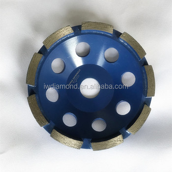 125mm-180mm High Quality Diamond Single Row Cup Wheels For Concrete And Other Masonry Materials