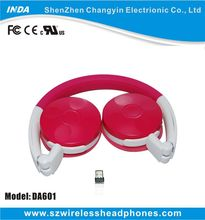 2.4G Digital Wifi Foldable Wireless Headset with Mic for PC