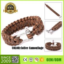 Wholesale Stainless Steel Clasps For Rescue Rope Safety Bracelet For Sale Bangles