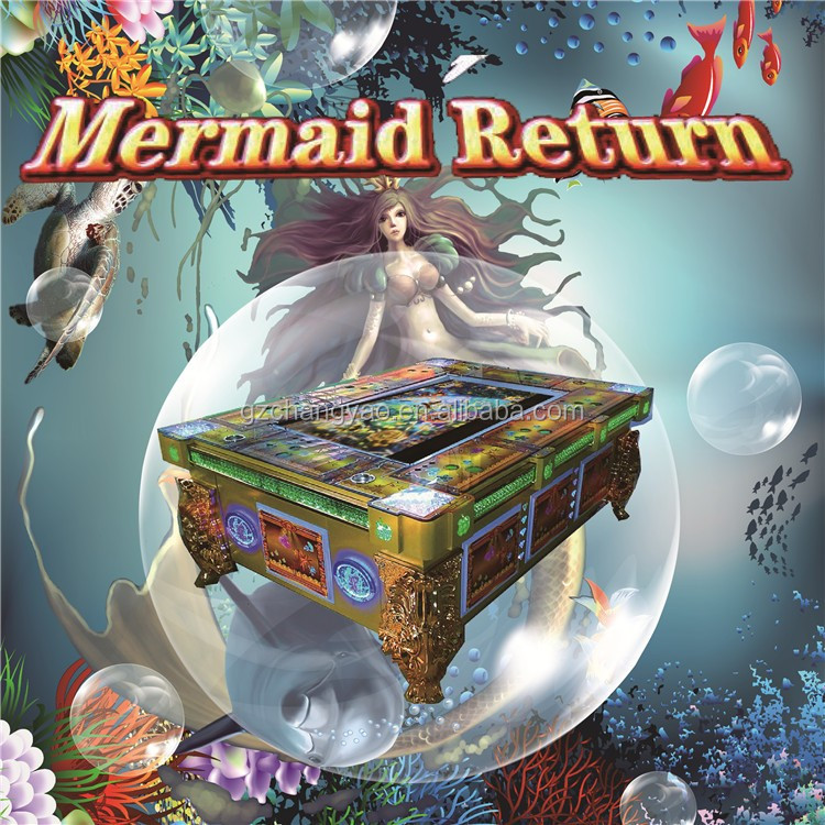 Arcade Fish Game Mermaid Return Machine Kit For Sale