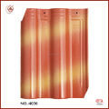 Chinese Glossy Double Shade Ceramic Roof Tiles Shading Tile