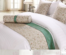 China Wholesale Latest Design 100% Polyester Hotel Textile Polyester Bed Runner Bedding Set Bed Sheet Duvet Cover For Hotel