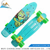 Wheel size 60*45mm Hot selling 22*6inch small plastic skate board skateboard