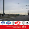 16M Square Led High Mast Lighting Pole with Galvanization and Powder Coated